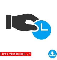 Time Properties Eps Icon vector
