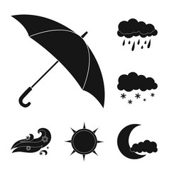 weather and climate icon vector image