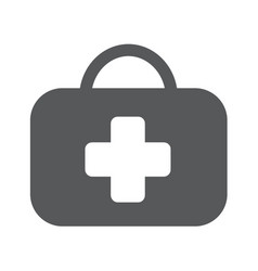 medicine chest sign vector image vector image