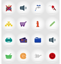 service flat icons 37 vector image