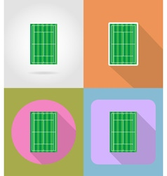 sport flat icons 43 vector image