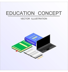 concept education 24 vector image
