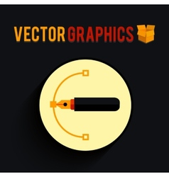 Graphics shape vector image