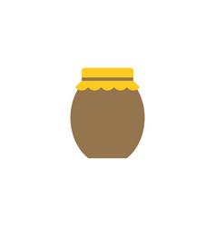 jar icon flat design icon vector image
