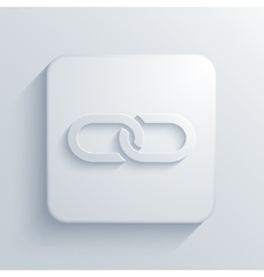 modern chain light icon vector image