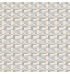 Mosaic pixel background - seamless vector