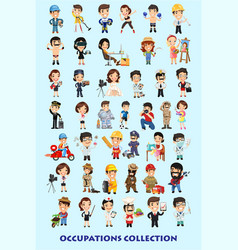 Occupations-set vector