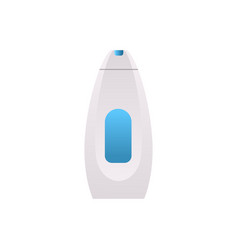 plastic soap shampoo or shower gel bottle icon vector image