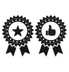 Quality check icon for apps or websites vector