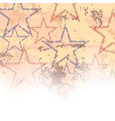 Starry Grunge Background vector image