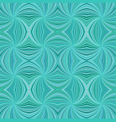 turquoise abstract psychedelic seamless striped vector image