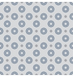 Flower seamless pattern 9 vector image
