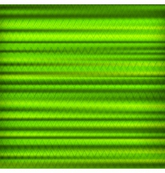 Abstract green zig zag striped background vector image