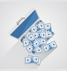 Case with money vector