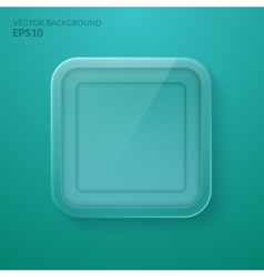 Glass framework Eps10 vector