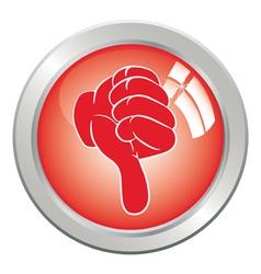 Icon button vector