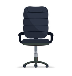 office chair director boss armchair manager seat vector image