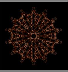 Oriental geometric ornament vector