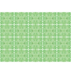 seamless pattern made of shamrock vector image
