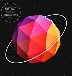 Sphere in universe vector