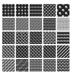 webbig bundle of 50 hand drawn seamless vector image