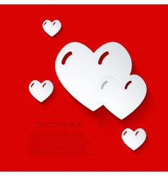 modern love background Eps 10 vector image
