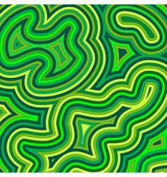swirly shades of green vector image
