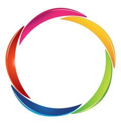 Abstract logo design vector image vector image