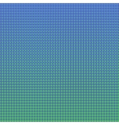 Colorful Halftone Background vector image vector image