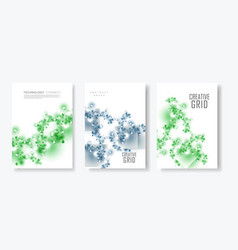 abstract layout a4 format cover design templates vector image