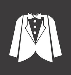man clothes design vector image
