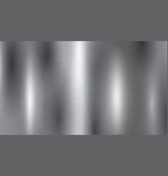 metal silver background vector image