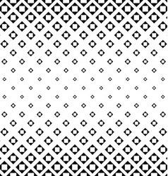 Monochrome square pattern background design vector image