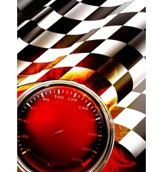 Racing Background Vertical vector image