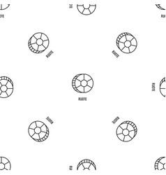 ruote pasta pattern seamless vector image