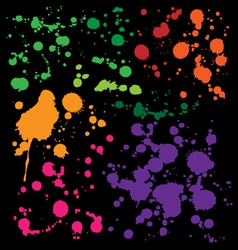 Splats Preview vector image