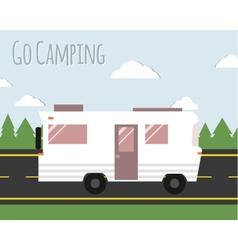 Summer Camping vector