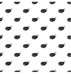 sushi lunch icon simple black style vector image