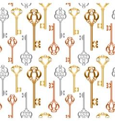 skeleton keys vector image vector image