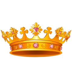 Royal Crown vector image vector image