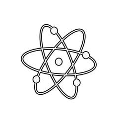 atom molecule science vector image