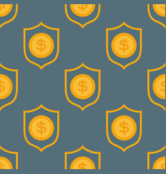 cartoon of dollar currency symbol vector image