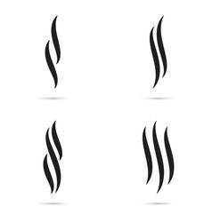 Aroma icon set vector