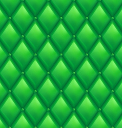 Green Leather Background vector image