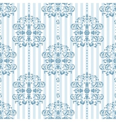 Royal Blue Background Pattern vector image