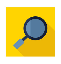 Search magnifier icon vector