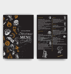 Sketch - vintage menu coffee vector