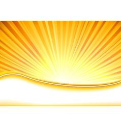 summer banner full shine vector image