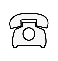 Telephone communication device vector