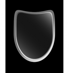 gradient shield vector image vector image